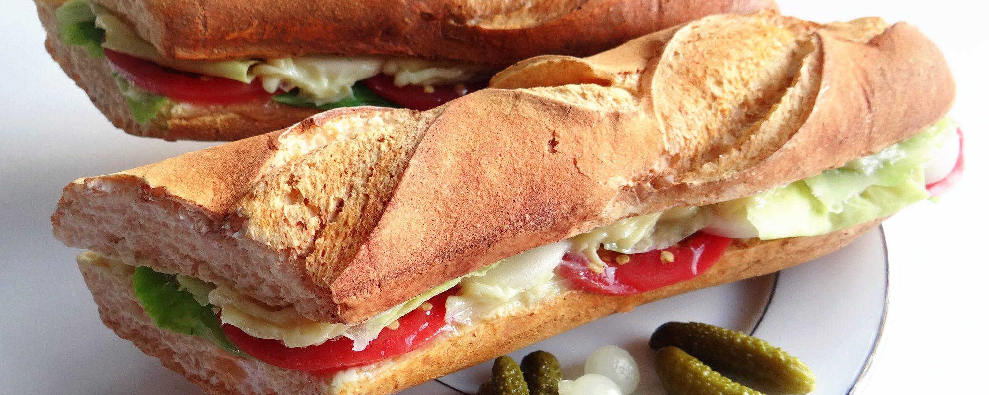 faux sandwich créé en résine comme factice alimentaire