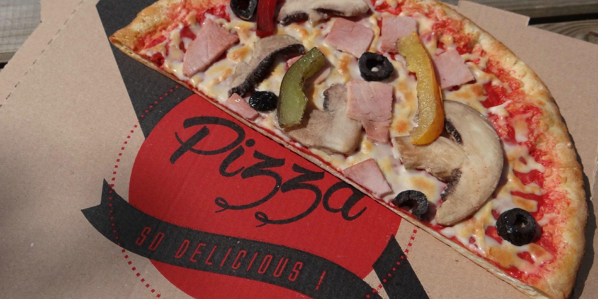 une fausse pizza qui donne envie autant qu'une vraie