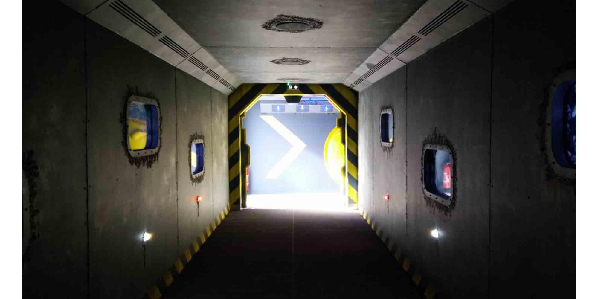 Réalisation d'un décor thème sous-marin pour l'Aquarium de Saint-Malo