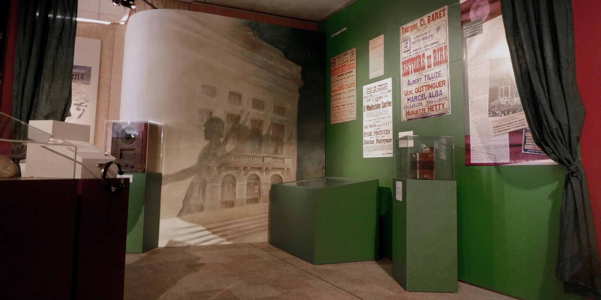 Exposition Le Morbihan dans la tourmente - Décors de scène quotidienne de la vie pendant la guerre
