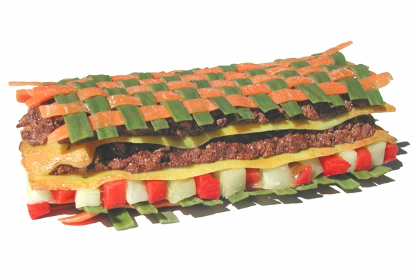 prototype de sandwich factice design pour quick lab