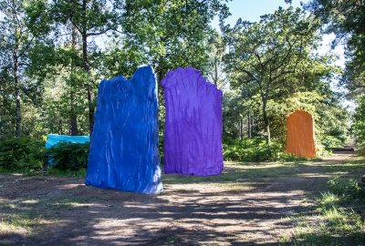 sculptures en polystyrene et resine de grande dimension