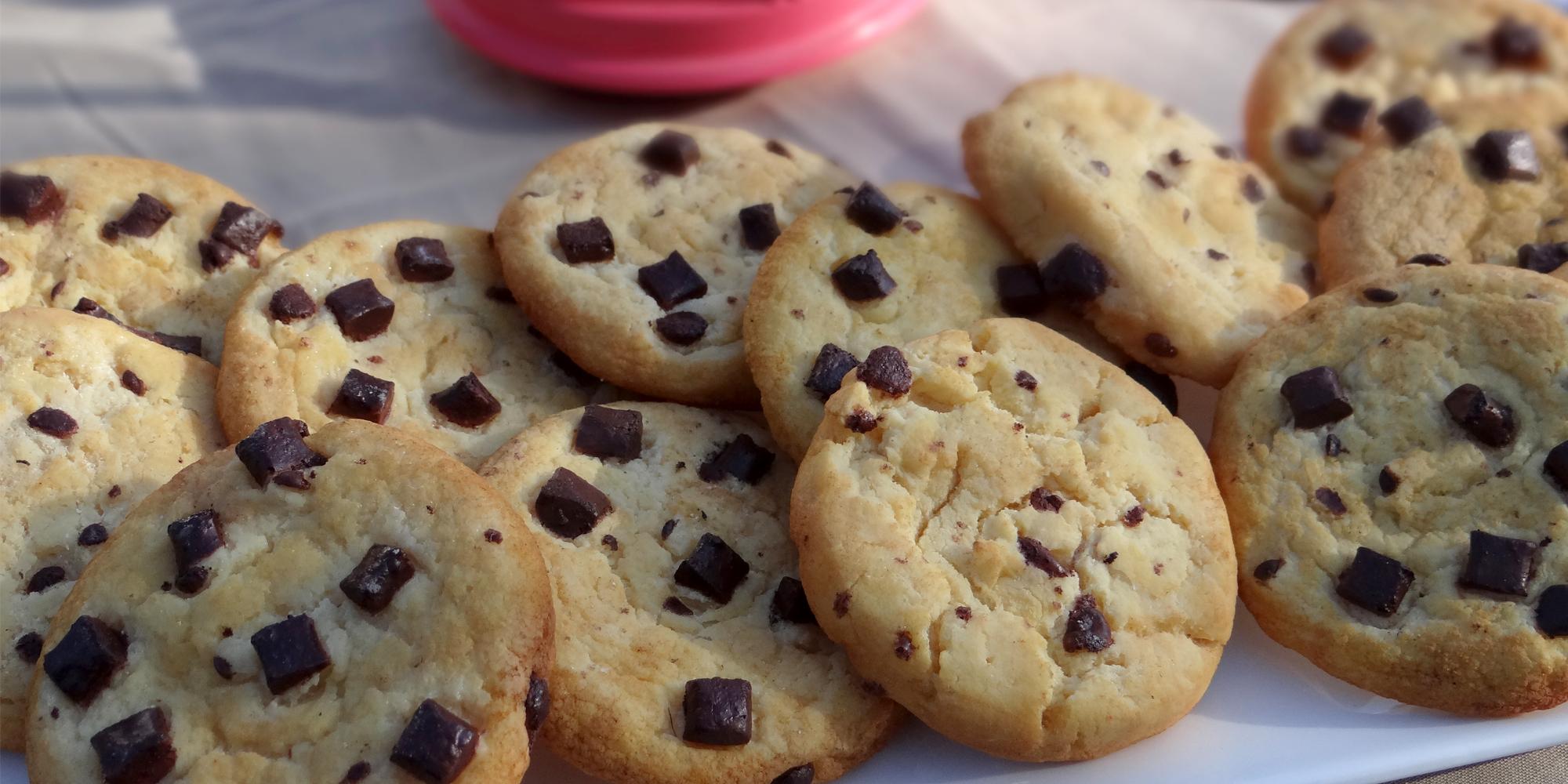 Cookies factices en résine pou décor de salon professionnels de l'alimentaire