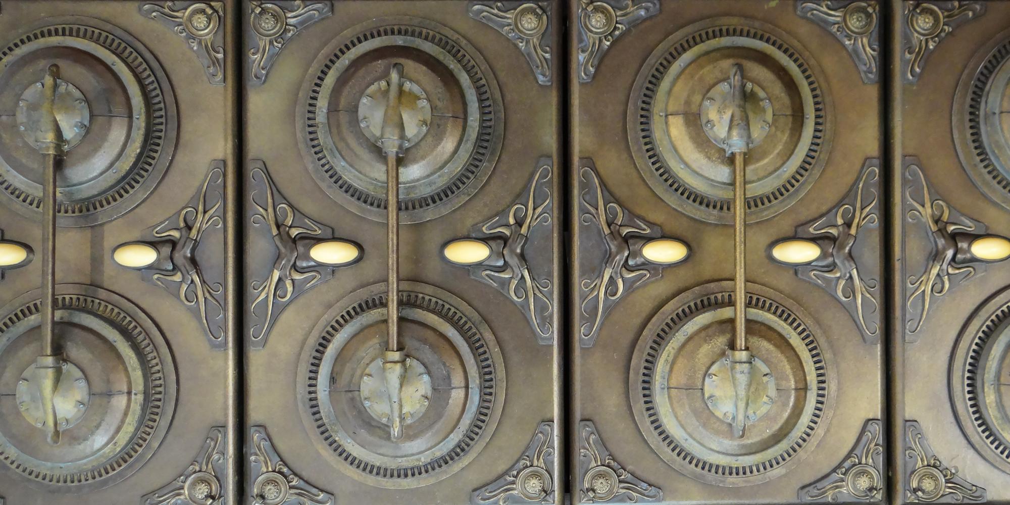 décor avec effet patine métal - Esprit Nautilus du Capitaine Némo