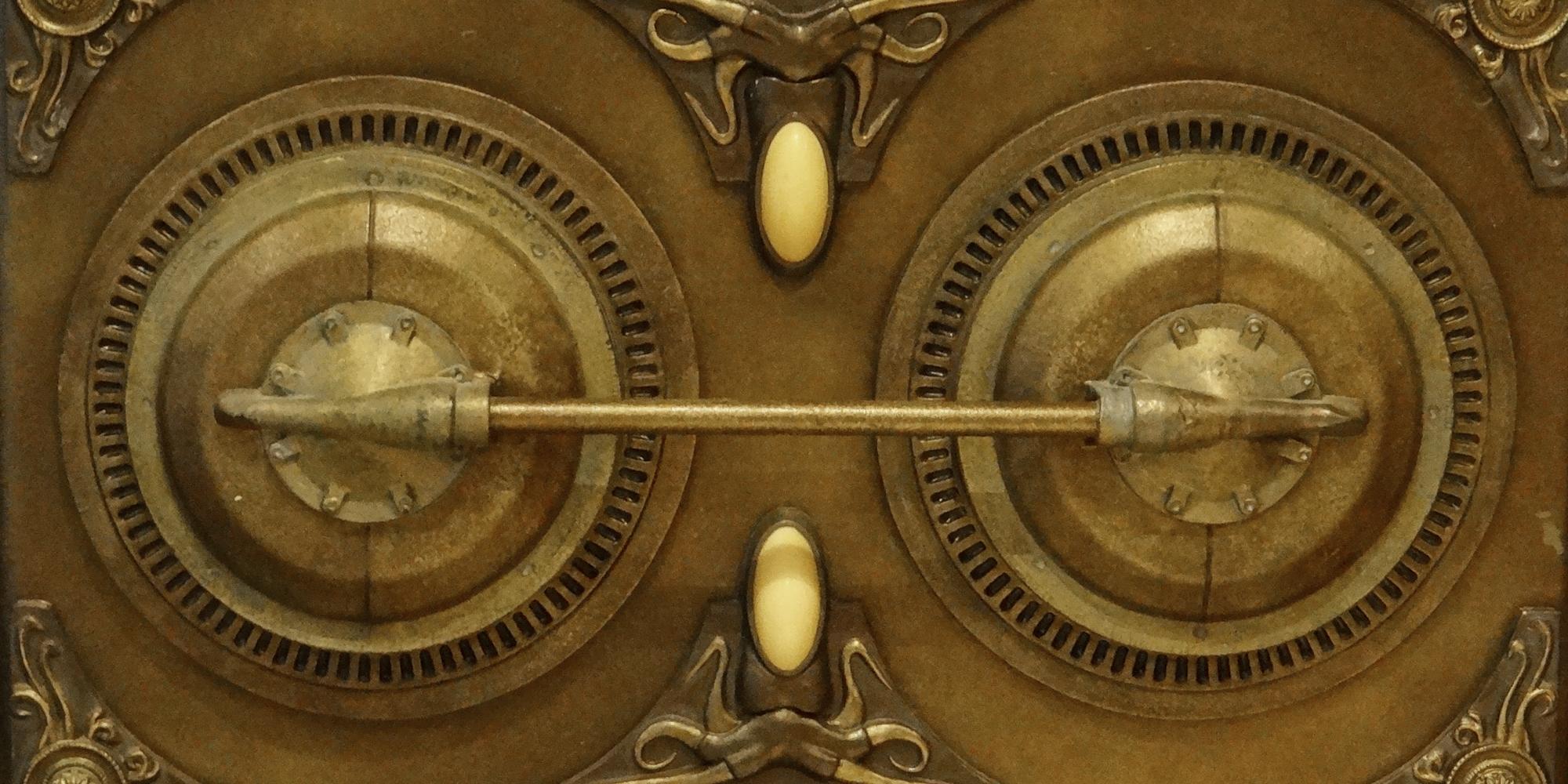 décor inspiré d'un univers Jules Verne futuriste un peu steampunk