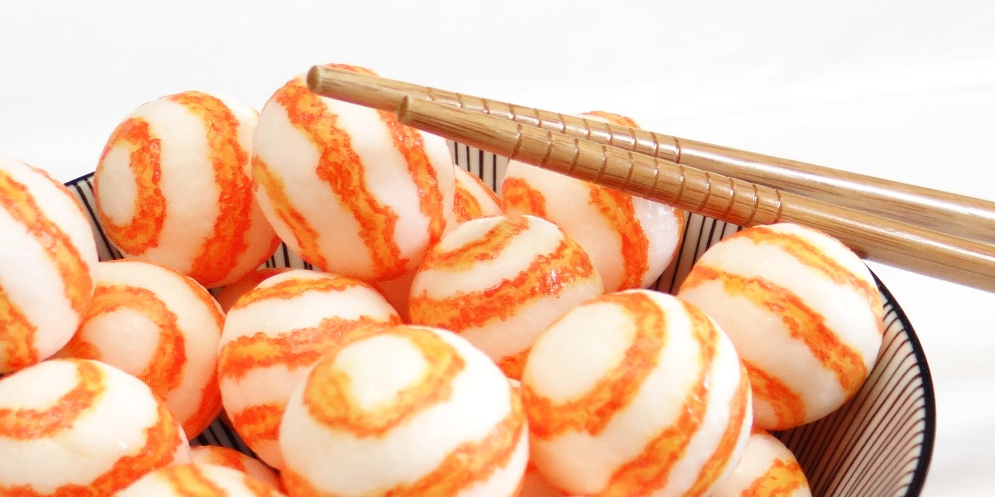 Création de factice alimentaire sur-mesure pour lancement de nouveaux produits Surimi