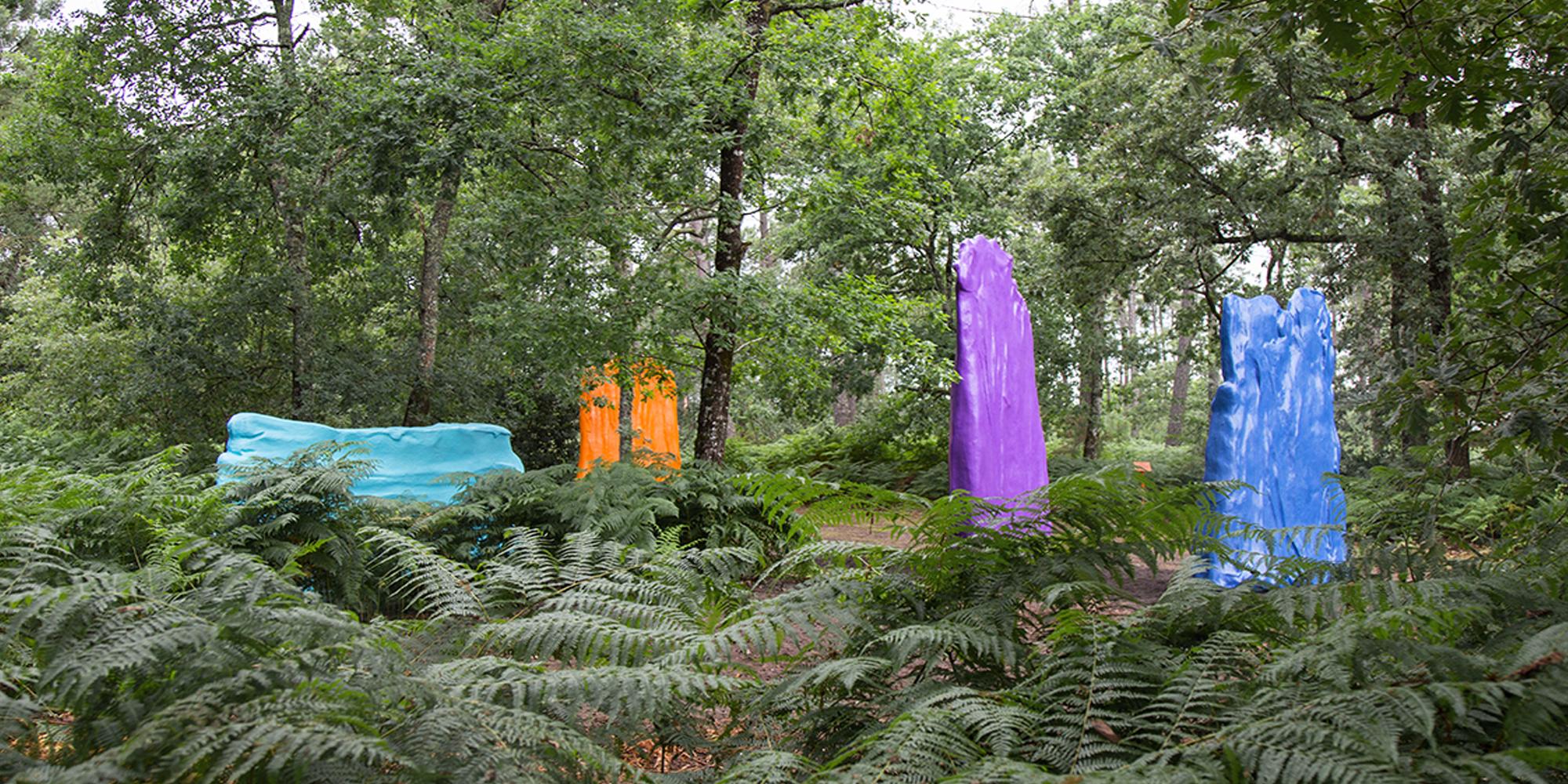 sculptures d'après maquette d'artiste Philippe Fangeaux