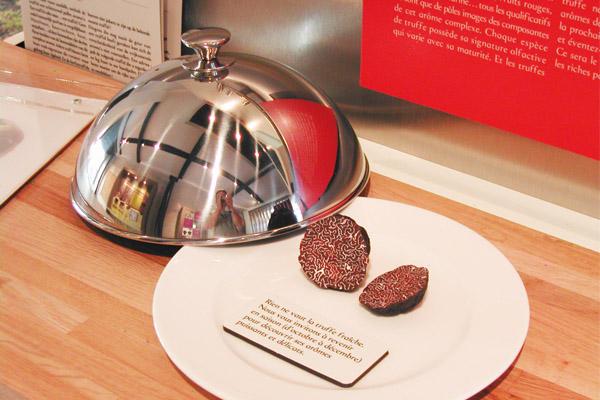 factices alimentaires de truffes