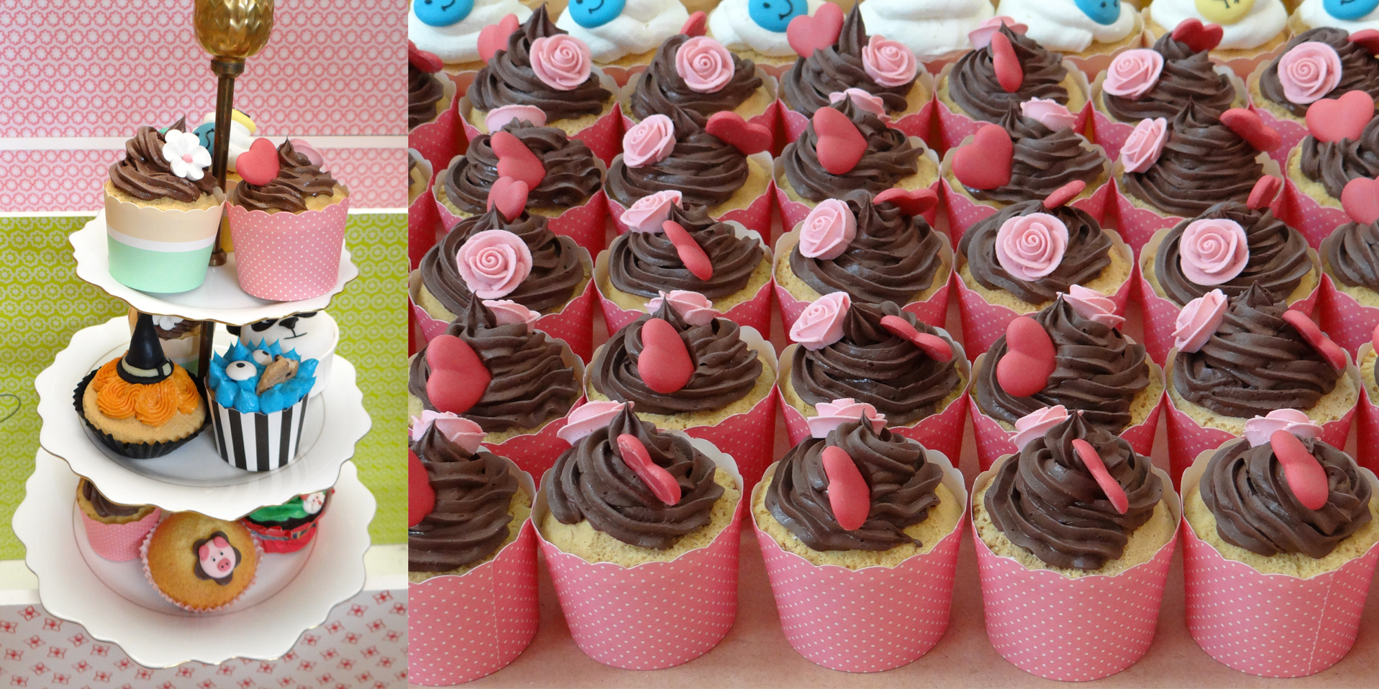 factices alimentaires cupcakes