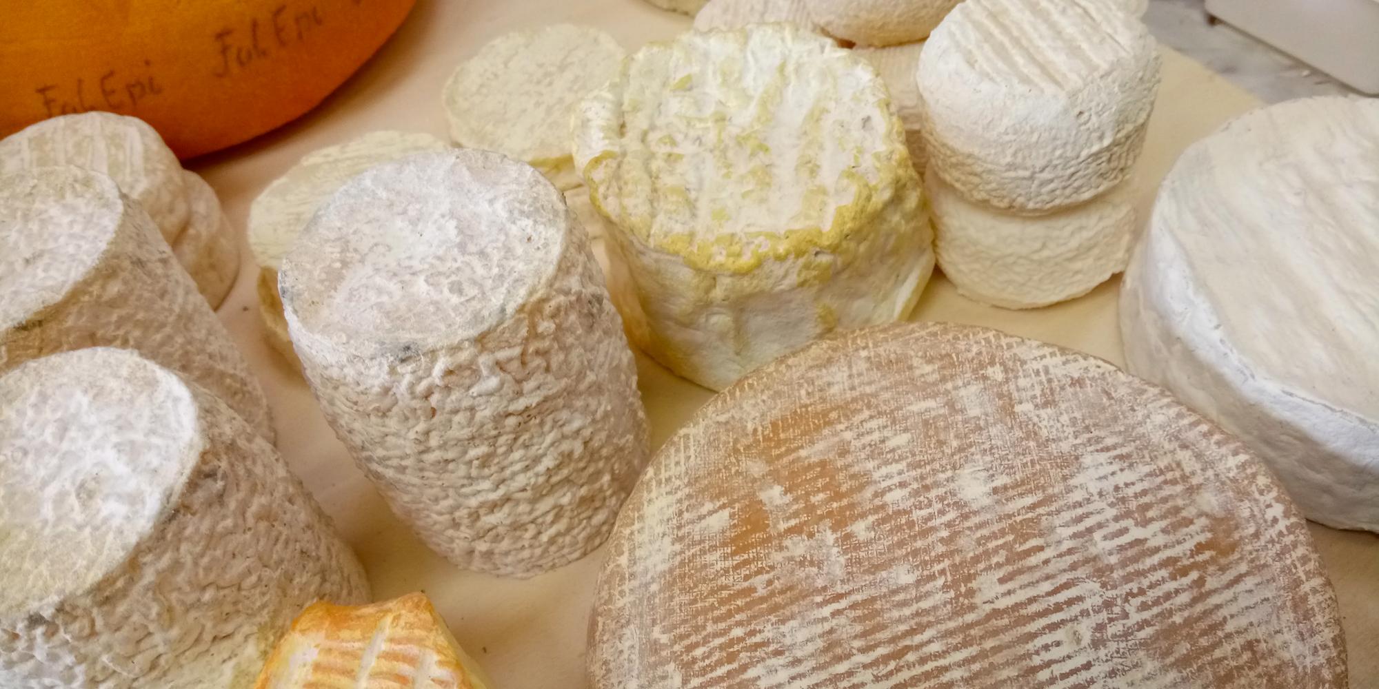 création de factices alimentaires de fromages